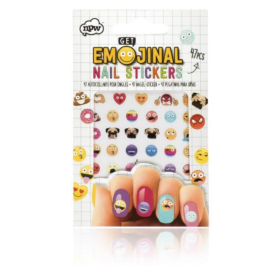 Stickers pour les ongles émoticônes
