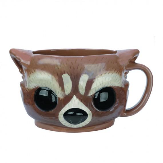 Mug POP Les Gardiens de la Galaxie Rocket Racoon