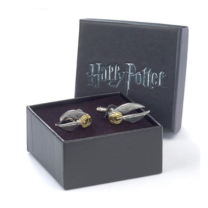 Chambre Bébé Harry Potter : Bouton de manchette harry potter vif d or