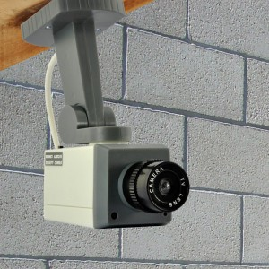 Fausse camera video surveillance