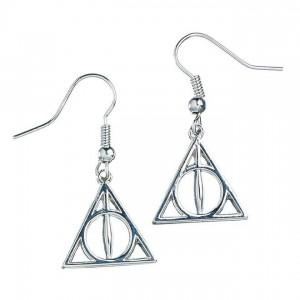 Boucles d'oreilles Harry Potter - Les Reliques de la Mort