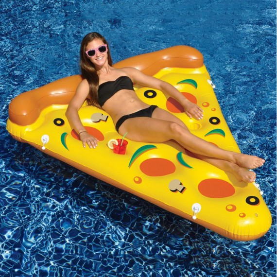 Matelas Gonflable Pizza