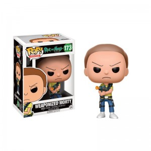 Figurine Pop ! Rick & Morty - Morty Weaponized
