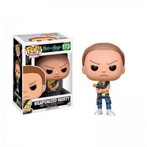 Figurine Pop! Rick & Morty - Morty Weaponized