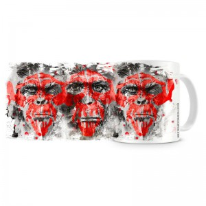 Mug Dawn of the Planet of the Apes - Virus ALZ113