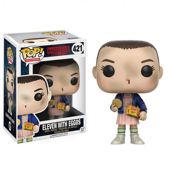 Figurine POP Stranger Things Eleven with Eggos
