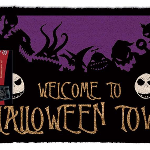 Paillasson l'étrange Noël de Mr. Jack Halloween Town
