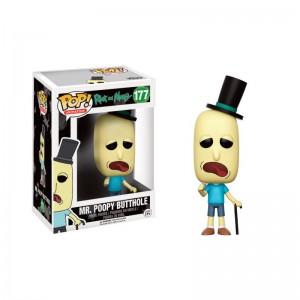 Figurine Pop! Rick & Morty - Mr. Poopy Butthole