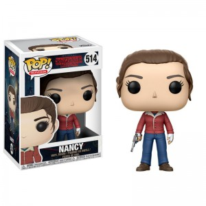 Figurine POP Stranger Things Nancy with Gun