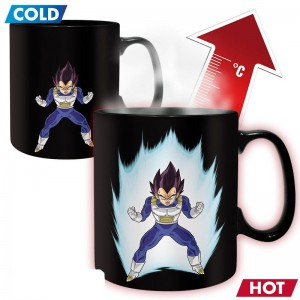 Mug Dragonball Z Vegeta Chaud Froid