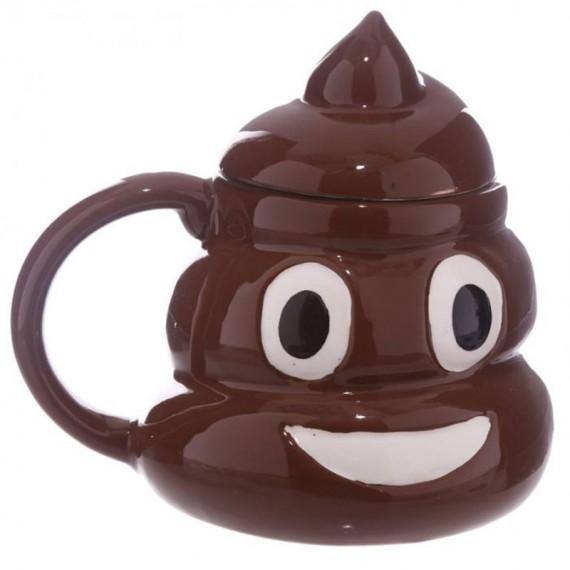 Mug Poop avec Couvercle