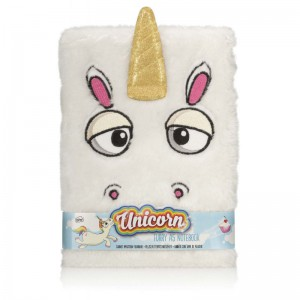 Carnet de Notes Licorne Fourrure