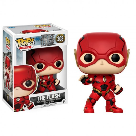 Figurine DC Justice League - Flash Pop 10cm