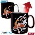 Mug Heat Change One Piece Luffy&Ace