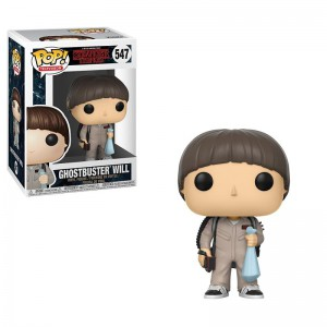 FIGURINE POP STRANGER THINGS SERIE 3 GHOSTBUSTER WILL