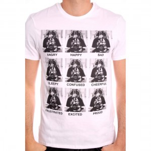 Tshirt Star Wars - Vador emotions