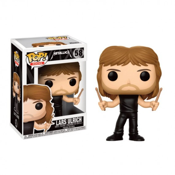 Figurine Rocks Metallica - Lars Ulrich Pop 10cm