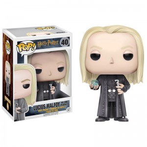 Figurine POP Harry Potter - Lucius with Prophecy (Exclusive)