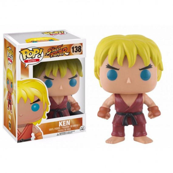 Figurine POP Street Fighter - Ken