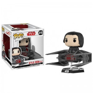 Figurine POP Star Wars - Kylo Ren Tie Fighter (Exclusive)