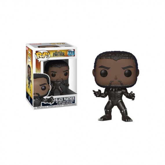 Figurine Marvel Black Panther - Black Panther Pop 10cm