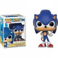 Figurine Sonic The Hedgehog - Sonic with Ring Pop 10cm
