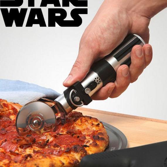Scie pizza sabre laser Star Wars