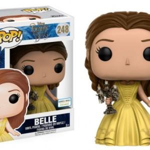 Figurine Disney - La belle et la bête - Belle avec Lumière Pop 10cm