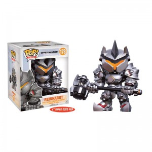 Figurine POP Overwatch - Reinhardt - Oversized