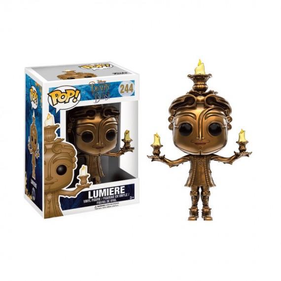Figurine Disney - La belle et la bête - Lumière Pop 10cm
