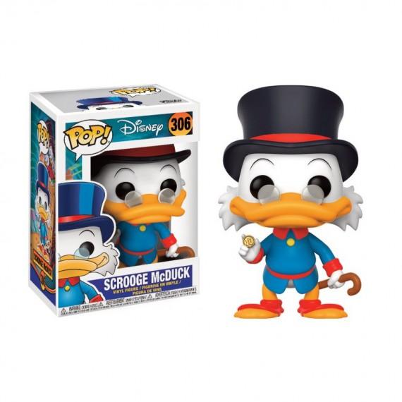 Figurine Disney - La bande à Picsou - Oncle Picsou Pop 10cm