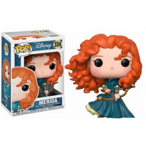 Figurine Disney Rebelle - Merida Pop 10cm