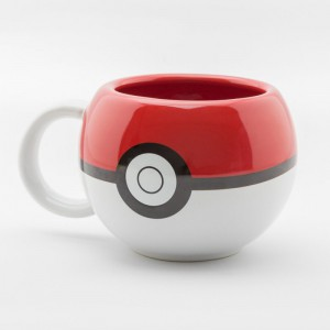 Mug 3D Pokeball Pokemon