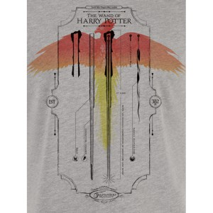 Tshirt Harry Potter - La baguette magique d'Harry