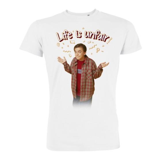 Tshirt Malcolm Life is Unfair