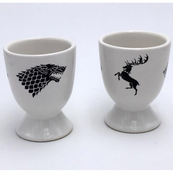 Coquetiers Game of Thrones (lot de 2)
