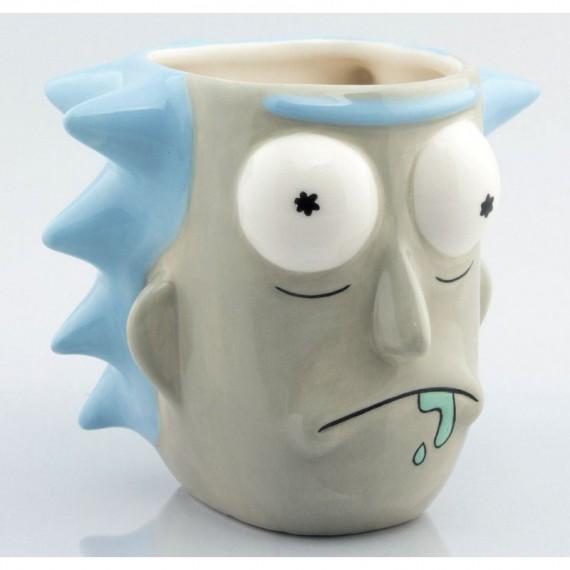 Mug 3D Rick & Morty Rick Sanchez