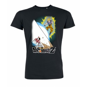 Tshirt Dragon Ball Z Goku VS Boo Exclusif
