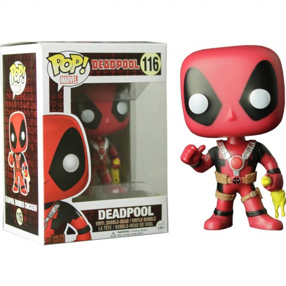 Figurine Pop Marvel - Deadpool Rubber Chicken