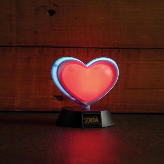 Lampe 3D The Legend of Zelda Réceptacle de Coeur