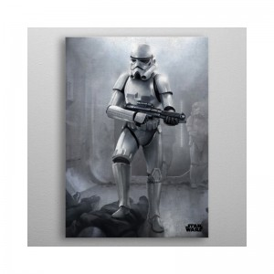 Panneau en Métal Stormtrooper