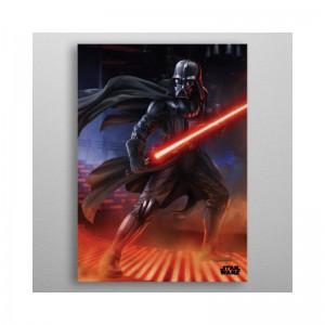 Panneau en Métal Darth Vader