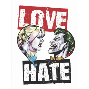 Tshirt DC Comics Batman Love Hate