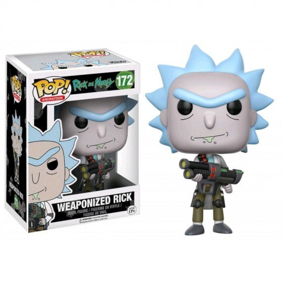 Figurine Pop ! Rick & Morty - Weaponized Rick