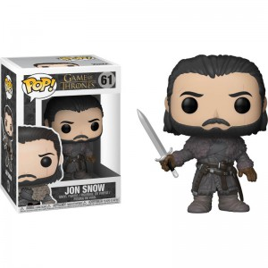 Figurine pop! Game of Thrones - Jon Snow Beyond The Wall