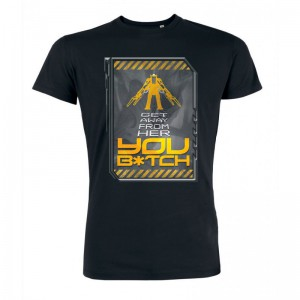 Tshirt Aliens Get Away From Her You B*tch