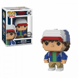 Figurine POP Stranger Things 8-Bit Dustin