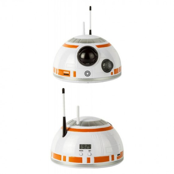 Reveil Projecteur Star Wars Episode VIII BB-8