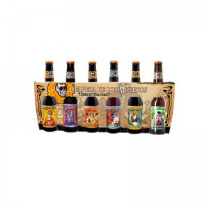 COFFRET BIERES MEXICAINES 6*33CL