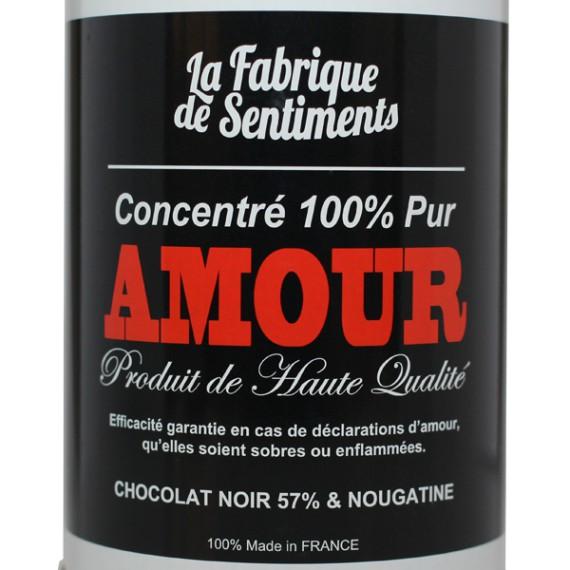 Chocolats amour noir
